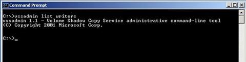 retryable error hyper-v vss writer service